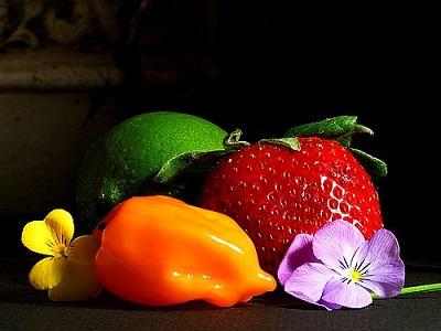 イチゴなどの青果物